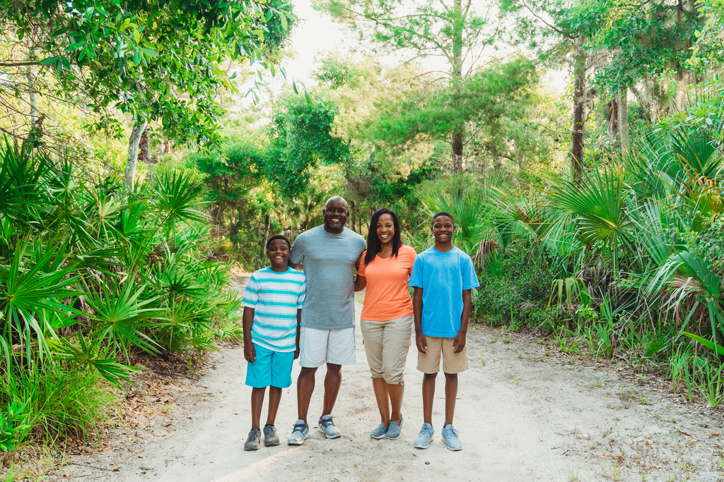 Family Hiking at Florida State Parks