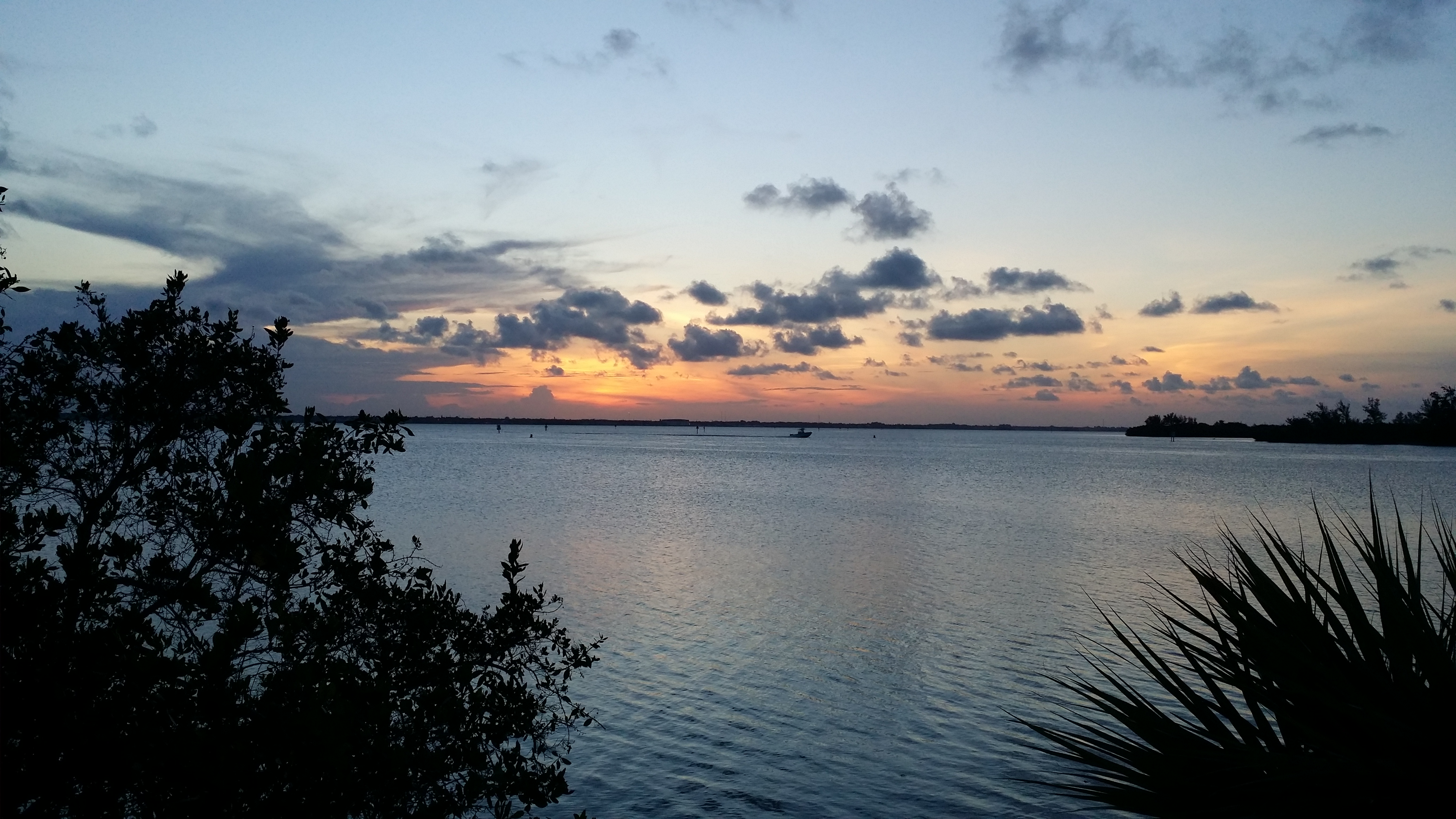 Sunset at the Indian River Lagoon