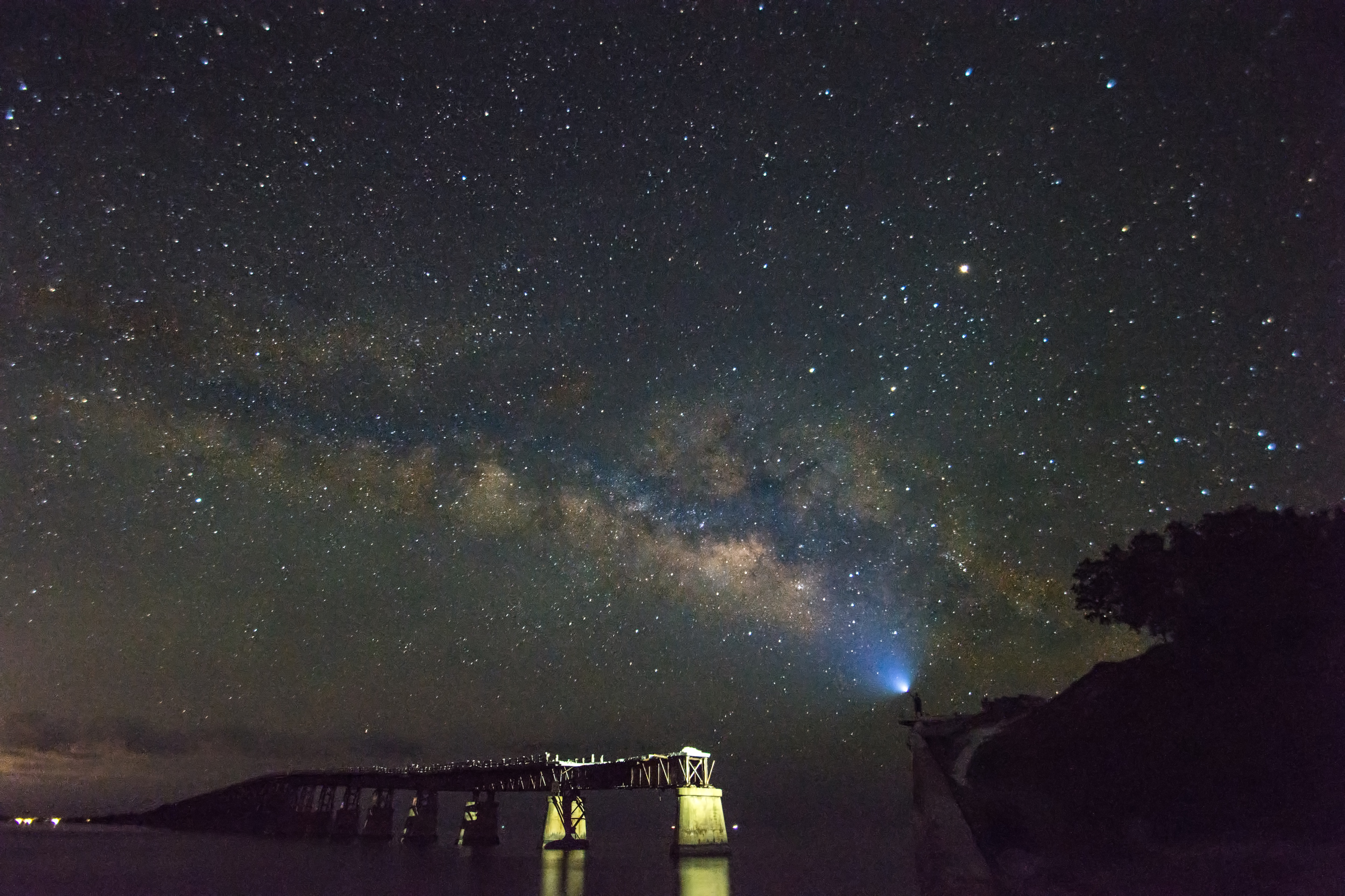 Stargazing at Bahia Honda