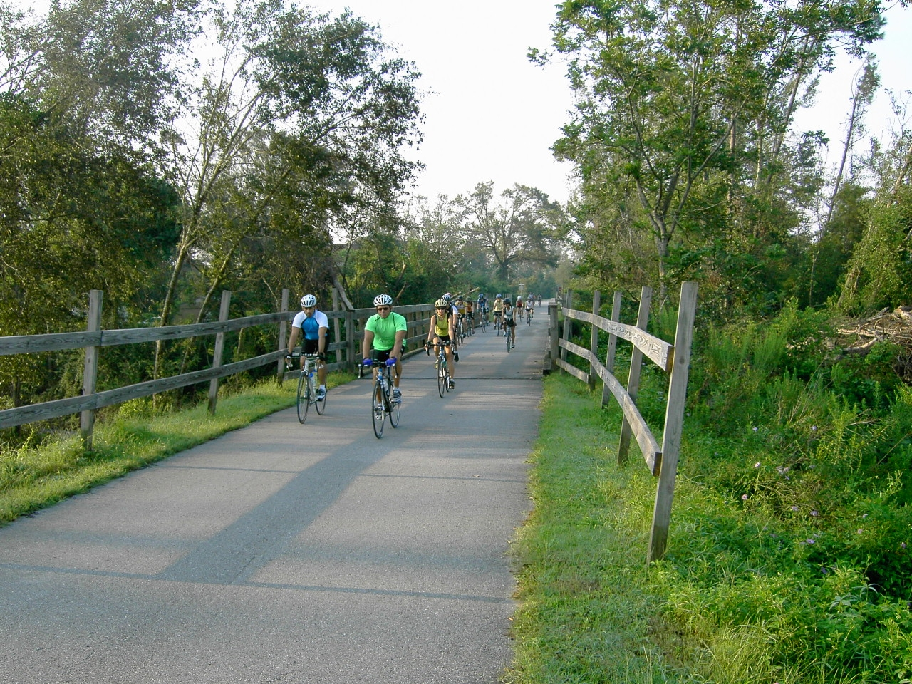 Bicycling at Blackwater State Trail