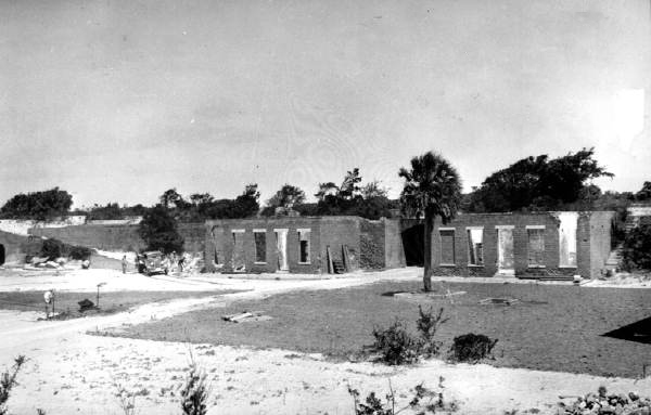 Restoration of Fort Clinch by CCC, circa 1940s