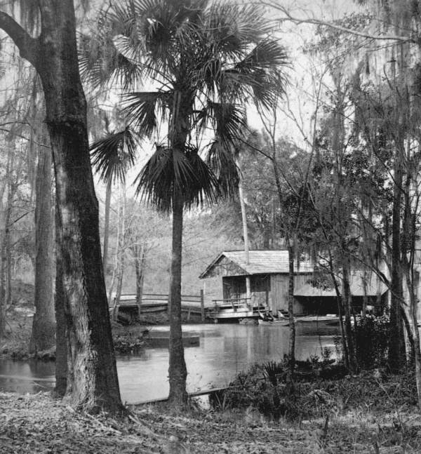 Clay Springs Boathouse, Circa 1880