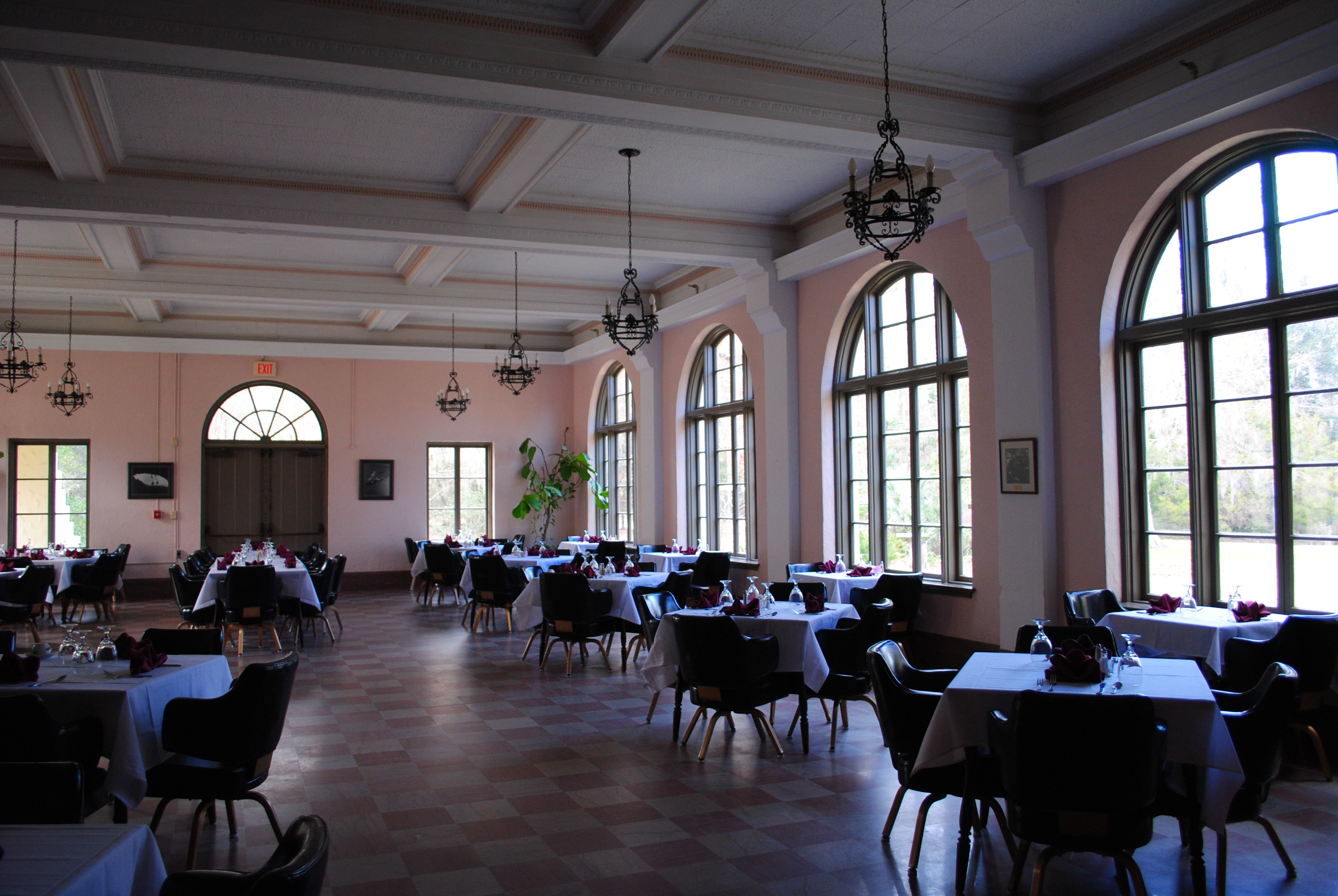 Dining Area of Lodge