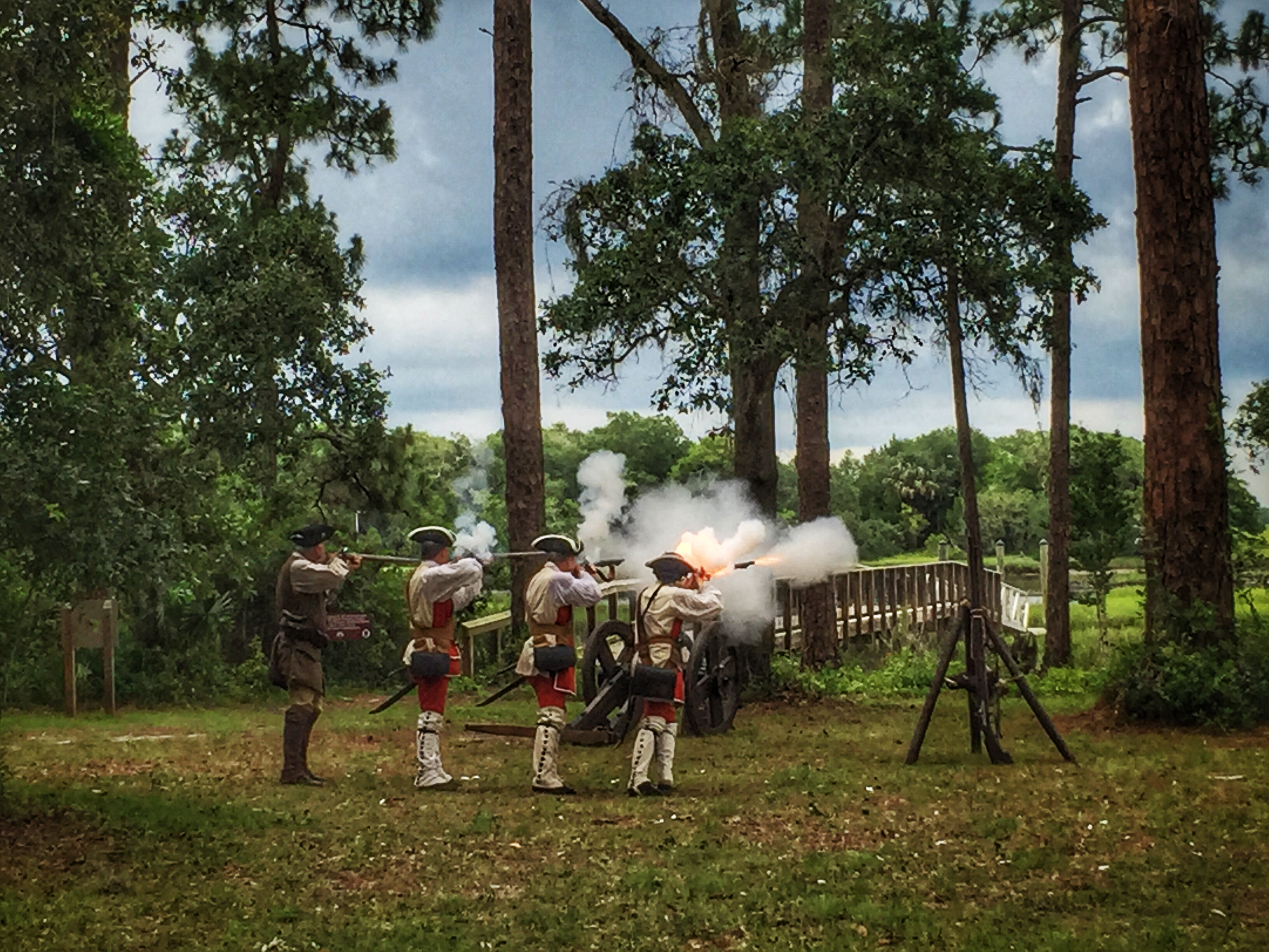 Fort Mose Muskets