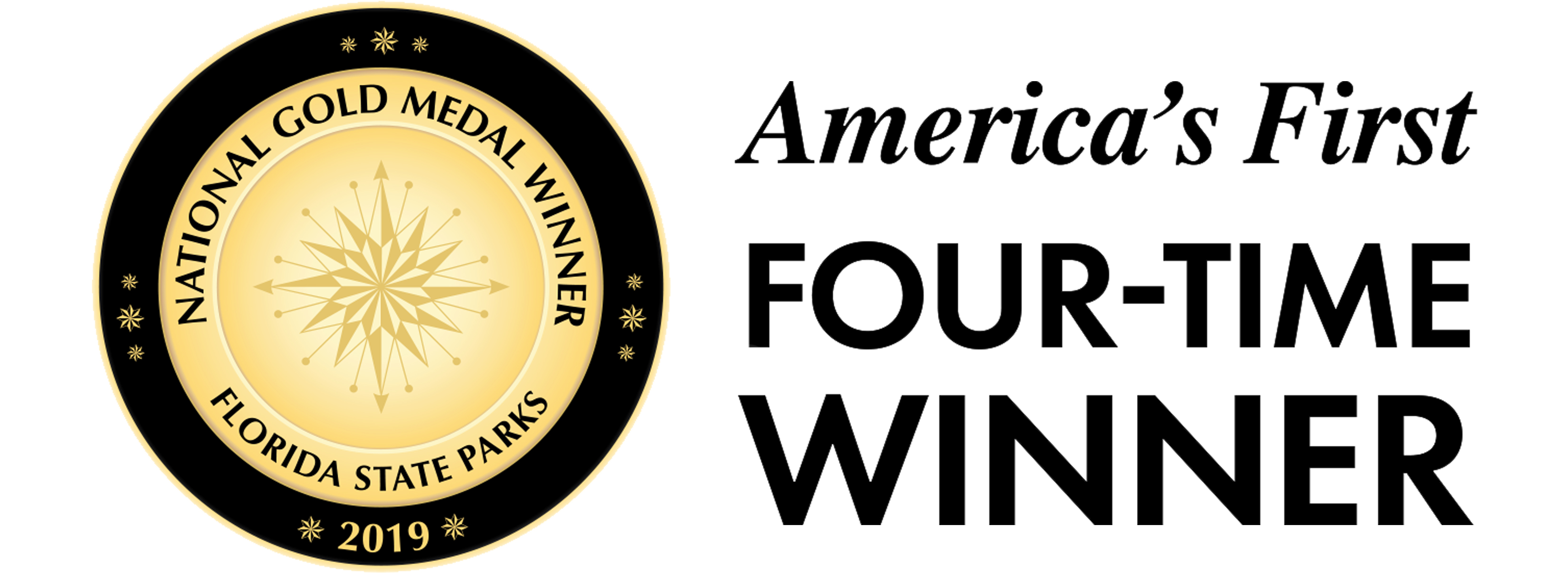 Gold Medal - America's First Four Time Winner