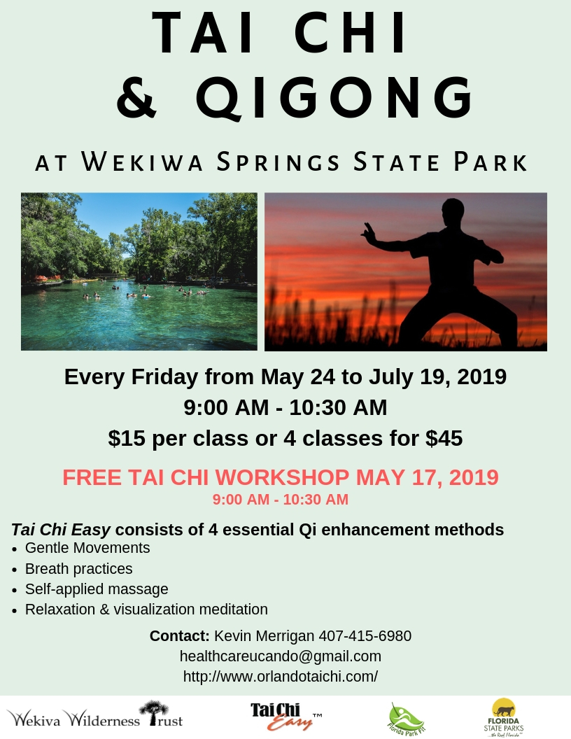 Tai Chi flyer at Wekiwa