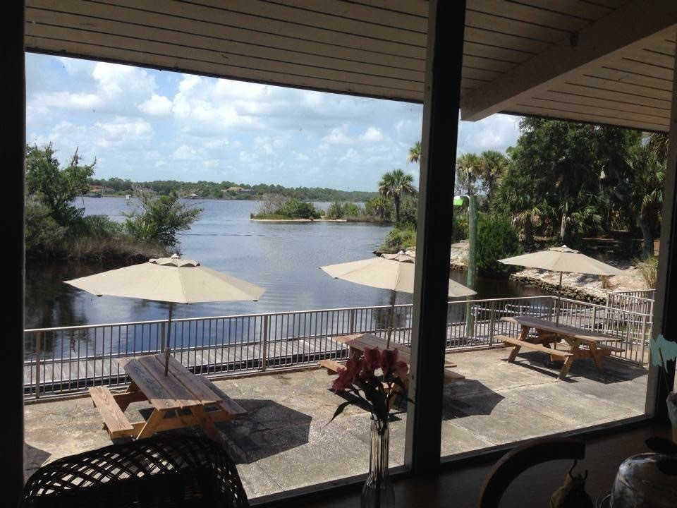View of the river from the Tomoka Outpost