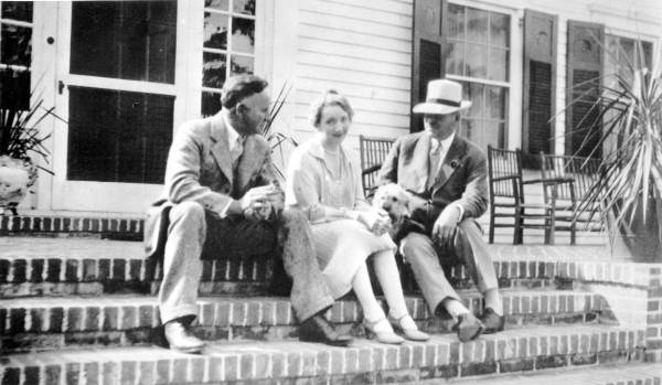 Alfred B. Maclay, Louise Maclay, and Dandy Dinmont