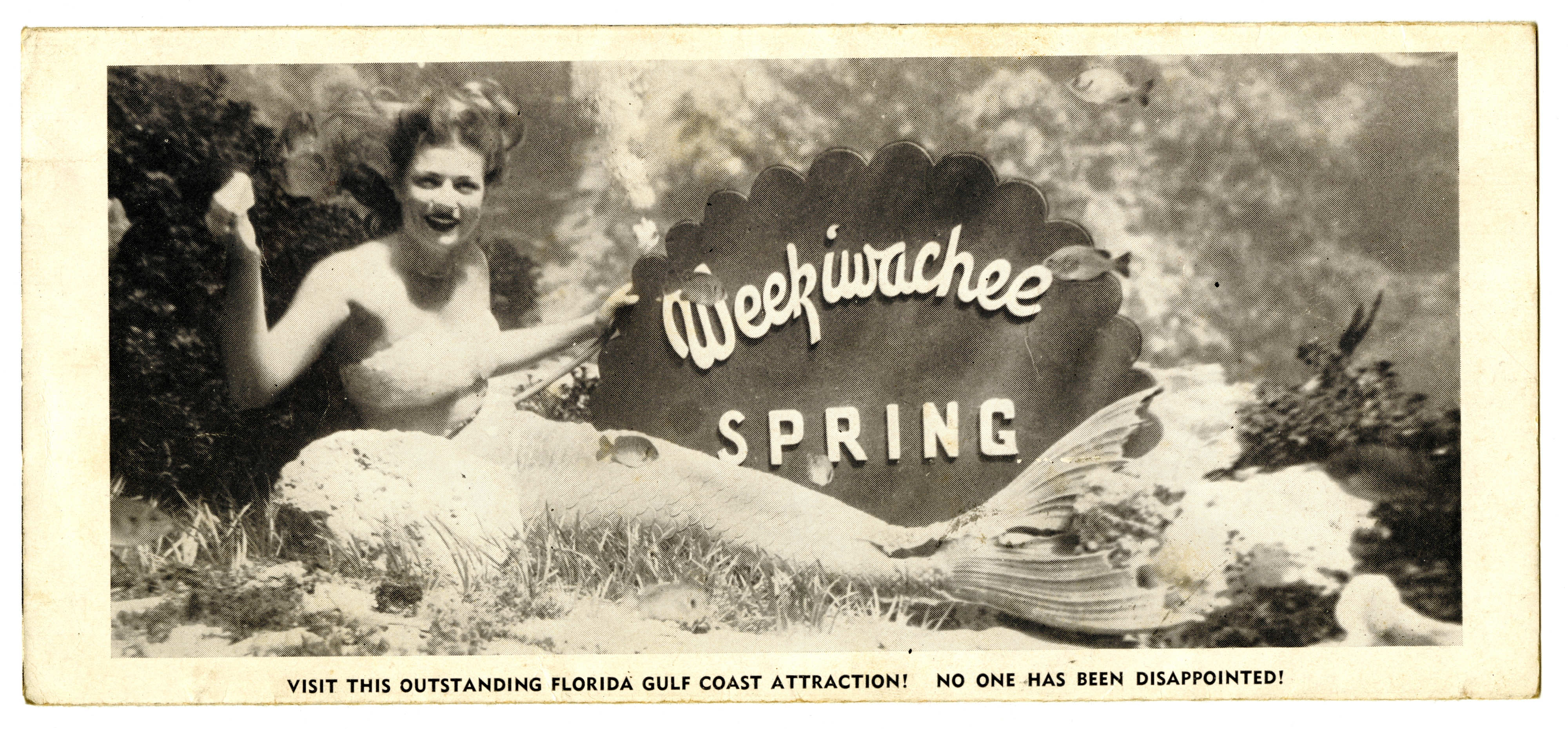 Weeki Wachee Springs Mermaid Promotional, Circa 1949
