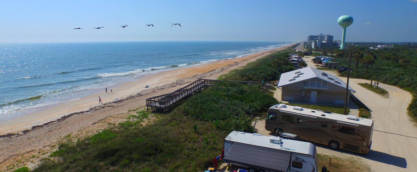 Rogers Memorial State Recreation Area At Flagler Beach