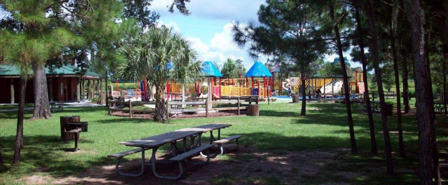 Baseline playground and picnic facilities