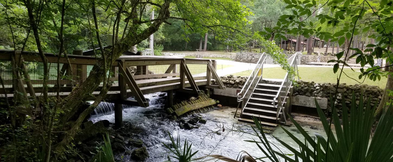 Florida Freshwater Springs Map.Ponce De Leon Springs State Park Florida State Parks