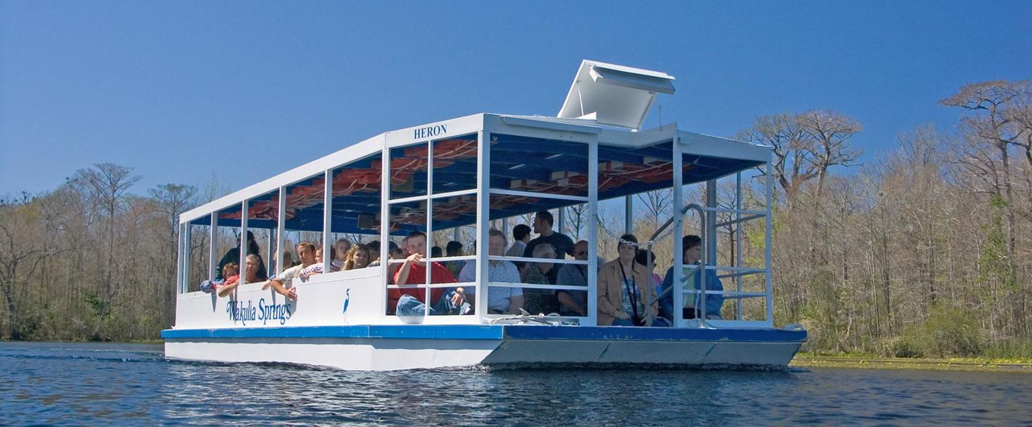 River Boat Tour on Spring Run