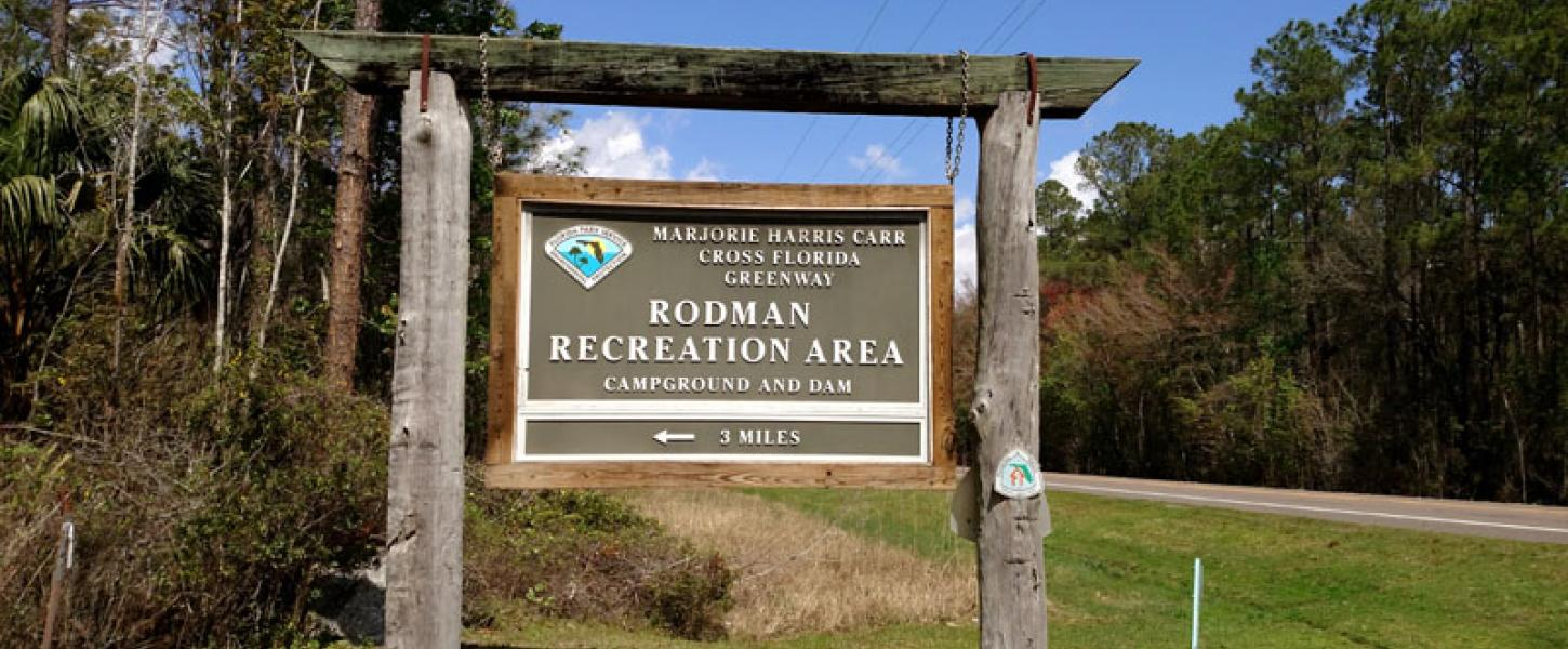 Image of Campground Entrance Sign