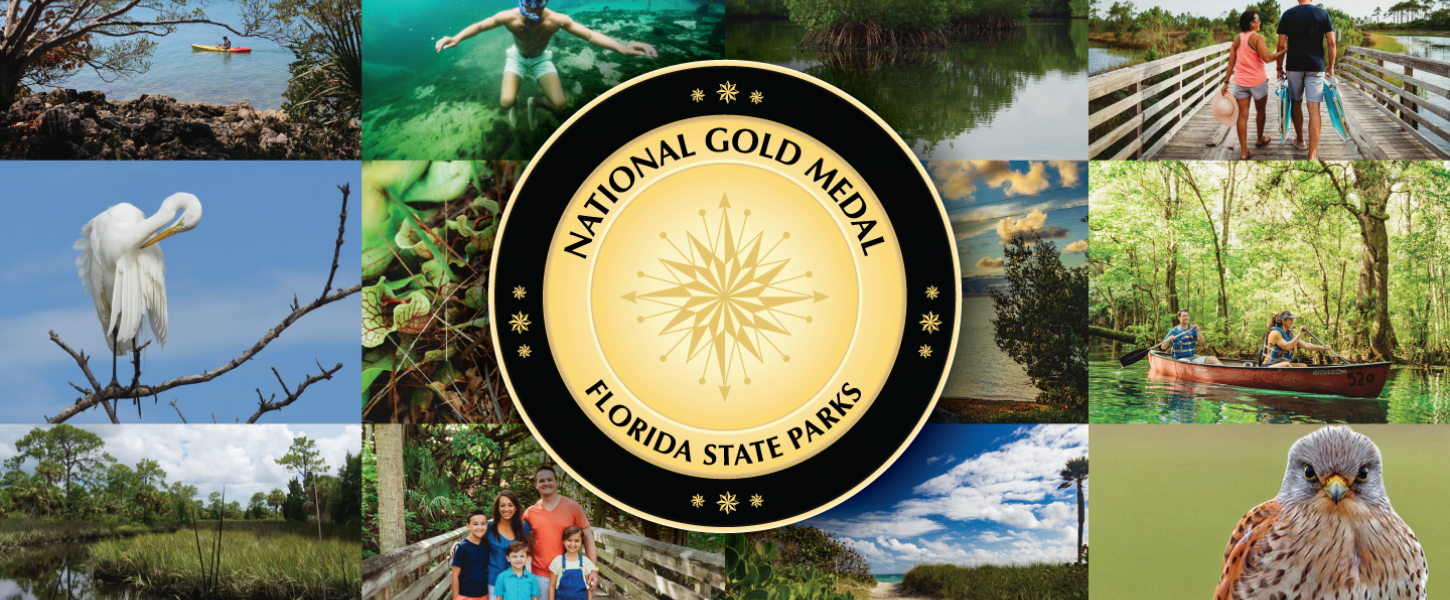 National Gold Medal - Florida State Parks