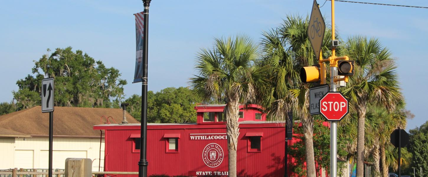 Withlacoochee State Trail Caboose