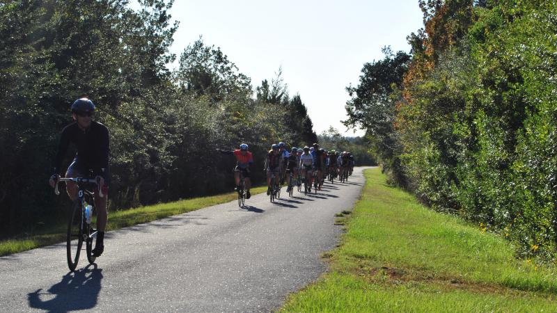 Bicycling on Blackwater Heritage State Trail