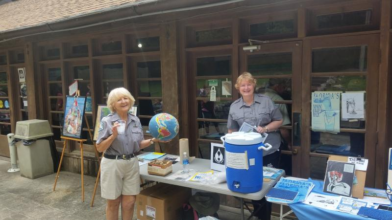 Friends of Florida Caverns Earth Day