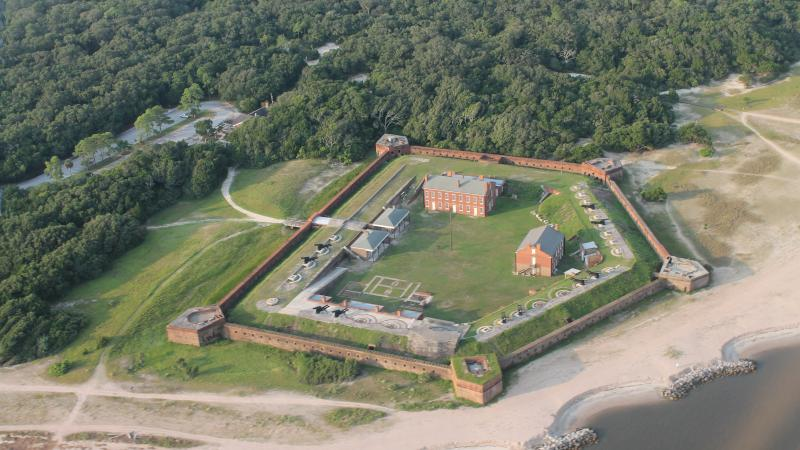 Fort Clinch ArialView