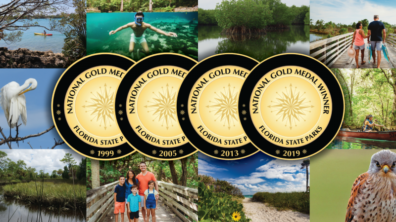 National Gold Medal Winner - Florida State Parks