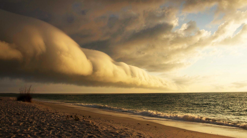 Storm Cloud at Gasparilla Island
