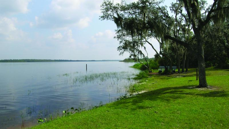 A view of Lake Manatee.