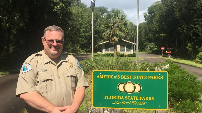Mark Abrizenski, Park Manager