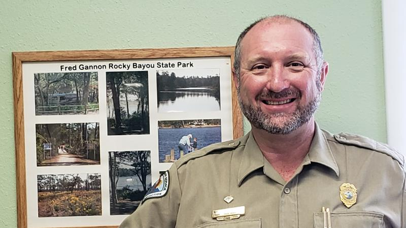 Chris Hawthorne, Park Manager