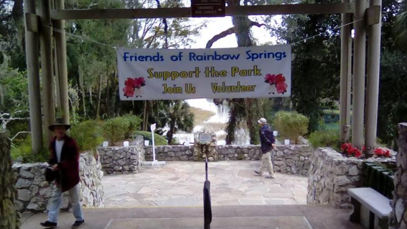 A picture of the Friends Group's banner