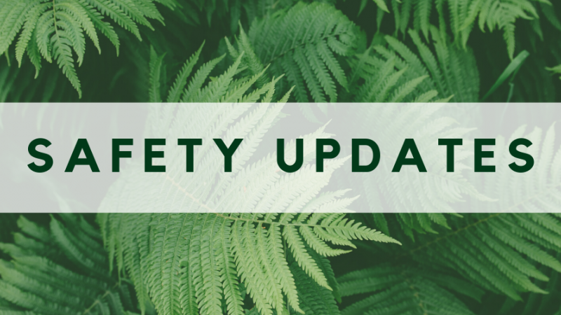 Safety Updates