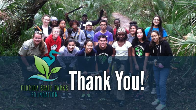 Thank You - Florida State Parks Foundation