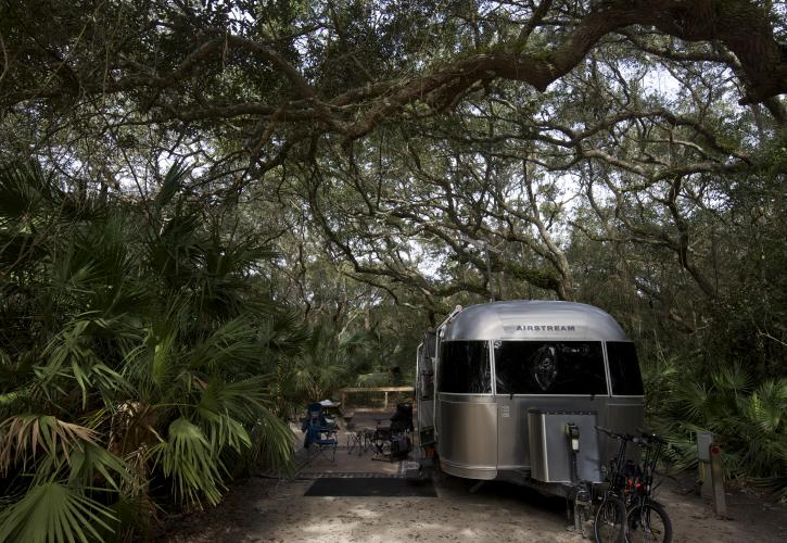 Image of RV camping at Anastasia