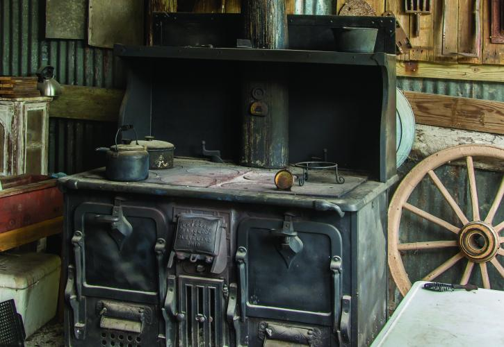 Historic Inside of Kitchen