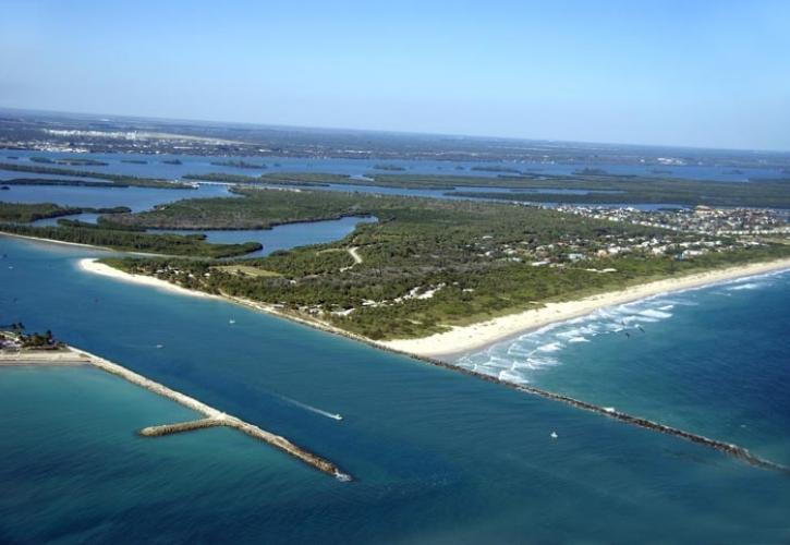 Aerial View of Fort Pierce Inlet