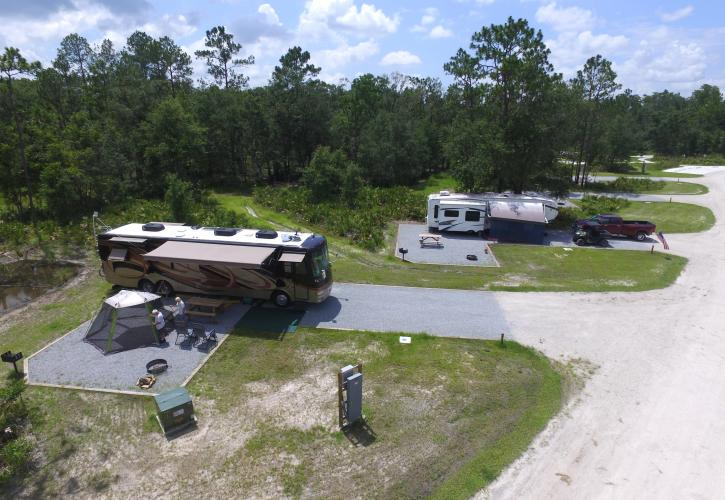 RV Camping at Colt Creek