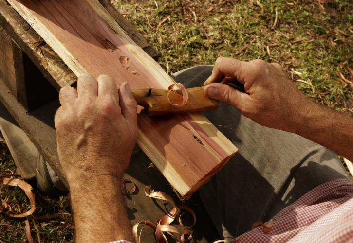 Woodwork at Dudley Farm