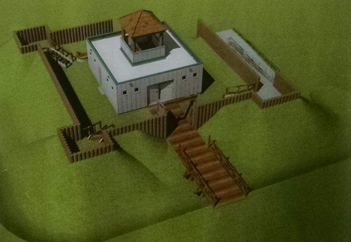 Fort Model of Fort Mose