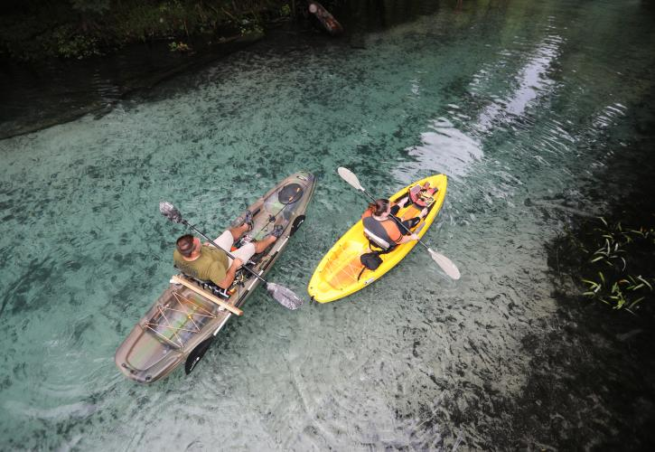 Gilchrist Blue Springs Kayakers