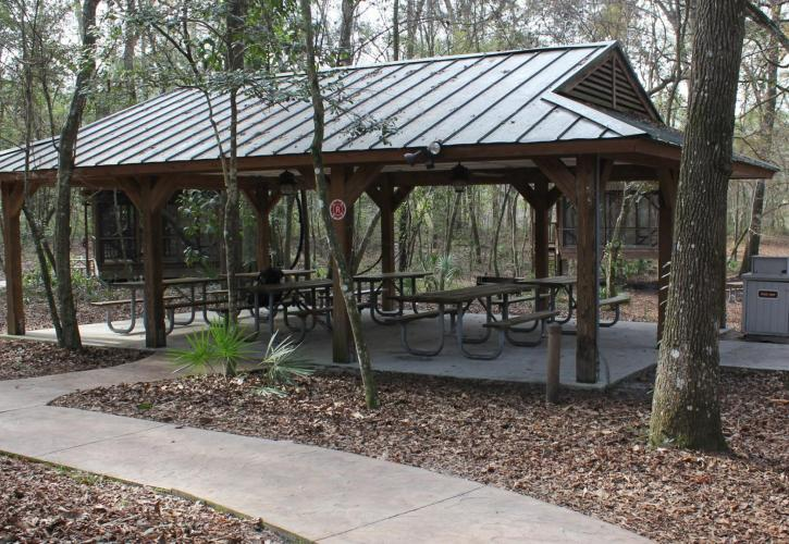 Suwannee River Wilderness Pavilion