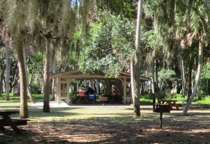 Pavilions Florida State Parks