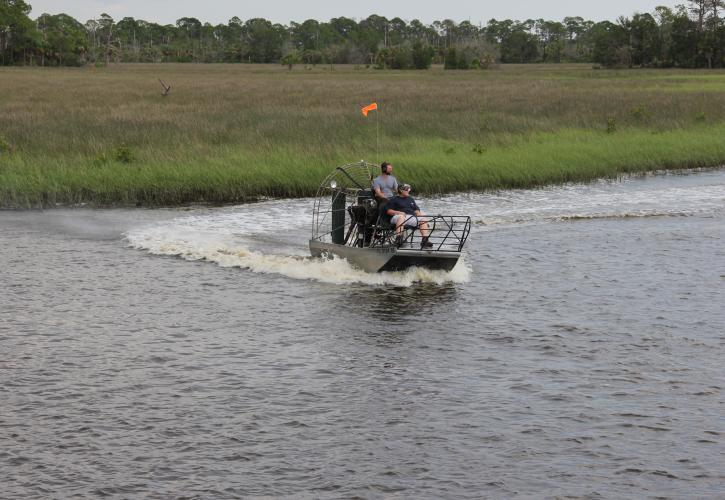 Waccasassa Bay Air Boat