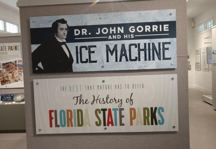 Interpretive Display at John Gorrie Museum State Park