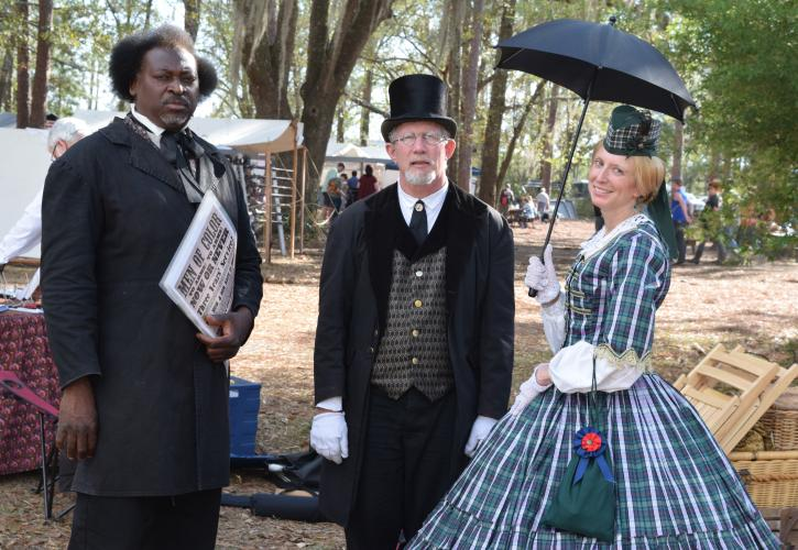 Olustee Battlefield Demonstrators