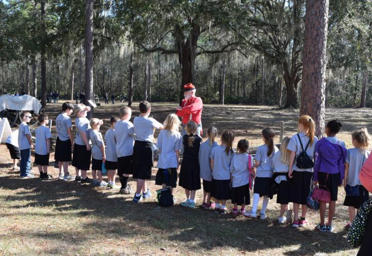 Olustee Battlefield  School Day