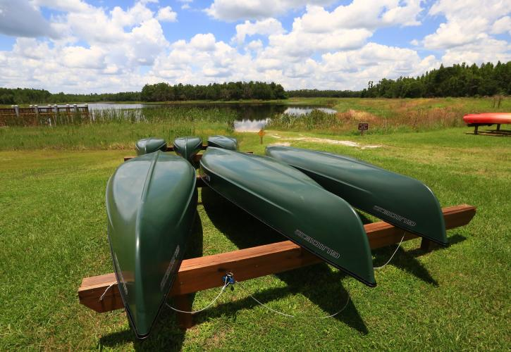 Canoe Rental at Colt Creek
