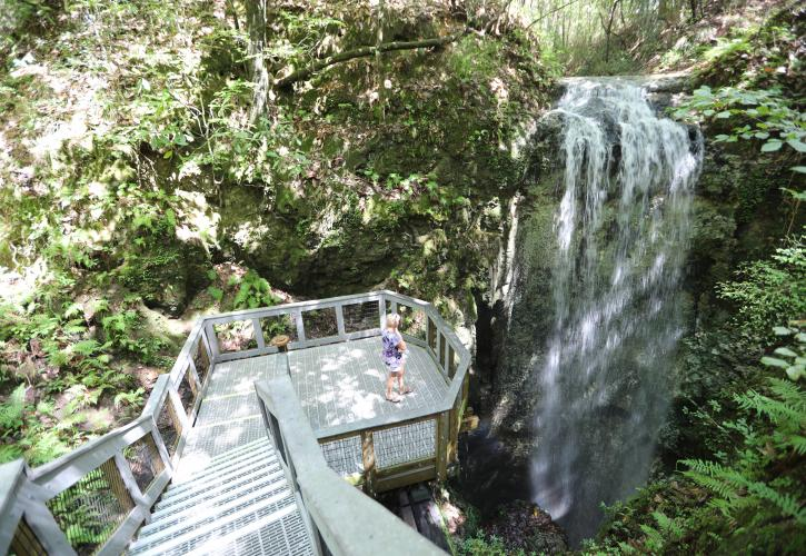 Falling Waters Waterfall Observation deck