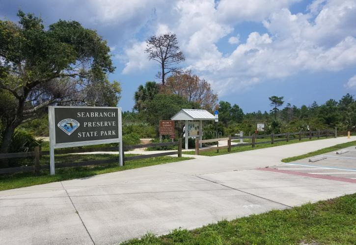 Seabranch Preserve Entrance