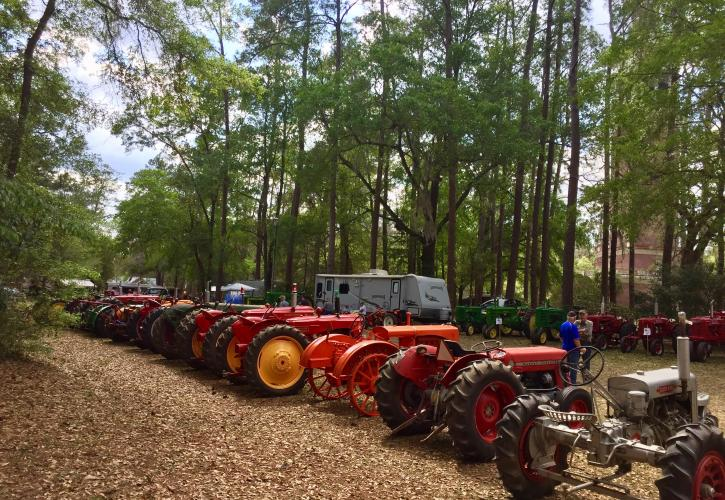 Stephen Foster Tractor Show