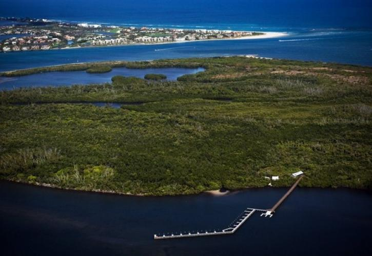 St. Lucie Inlet Aerial