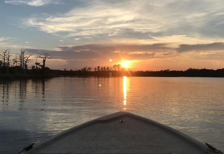 Ochlockonee River Sunset